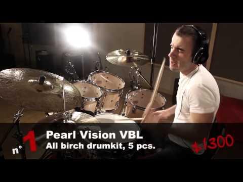 The 5 best sounding drumkits under $ 1500 - HD