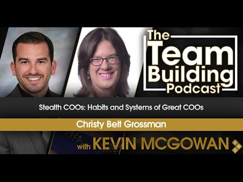 Stealth COOs: Habits and Systems of Great COOs w/Christy Belt Grossman
