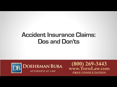 Accident Insurance Claims: Dos and Dont's from an Experienced Indianapolis Accident Attorney
