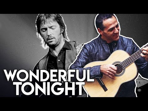 Wonderful Tonight - Eric Clapton - Fingerstyle - Easy - Guitar