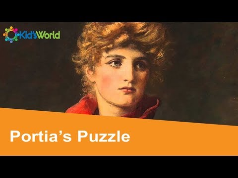 Portia's Puzzle Full Story By William Shakespeare, Fairy Tales for Kids