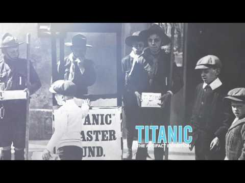 Titanic The Exhibition - Las Vegas