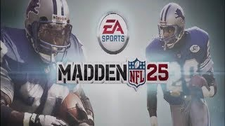 MADDEN 25 INTRO AND MENUS XBOX 360 - PRE-RELEASE VIDEO RETAIL DISC