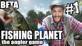 Fishing Planet - Découverte #1 || La pêche au bouchon || FR.
