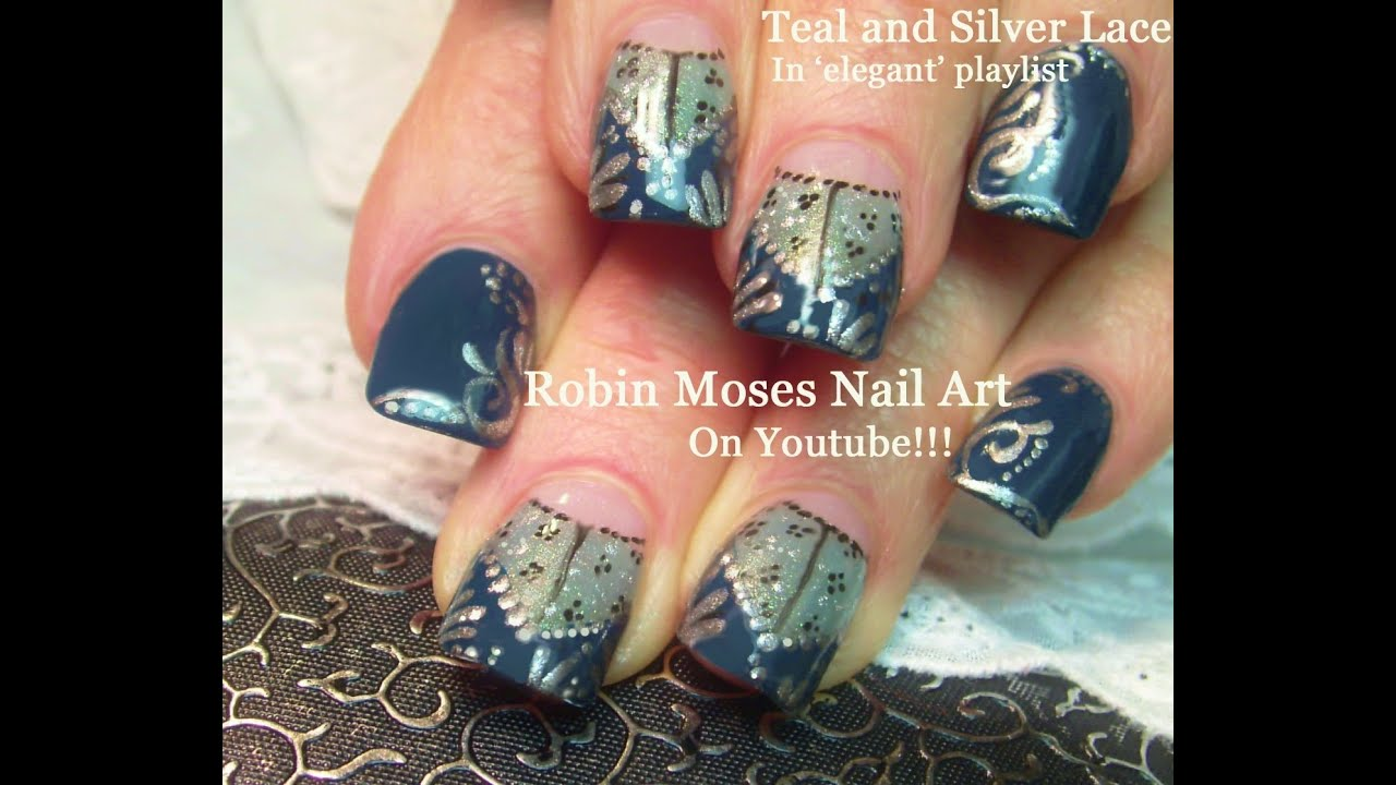 Lace nails easy nail design for short nails youtube lace nails easy nail design for short nails prinsesfo Gallery