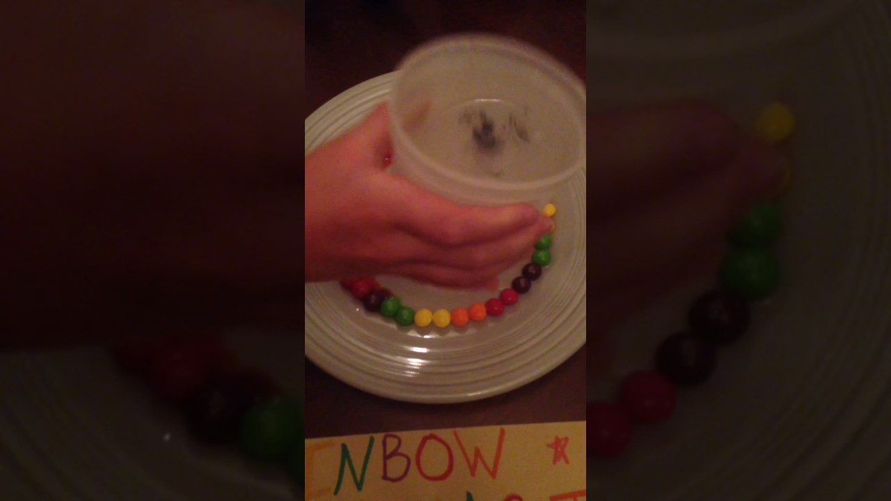 Elf On The Shelf Rainbow Magic Skittles Experiment Youtube