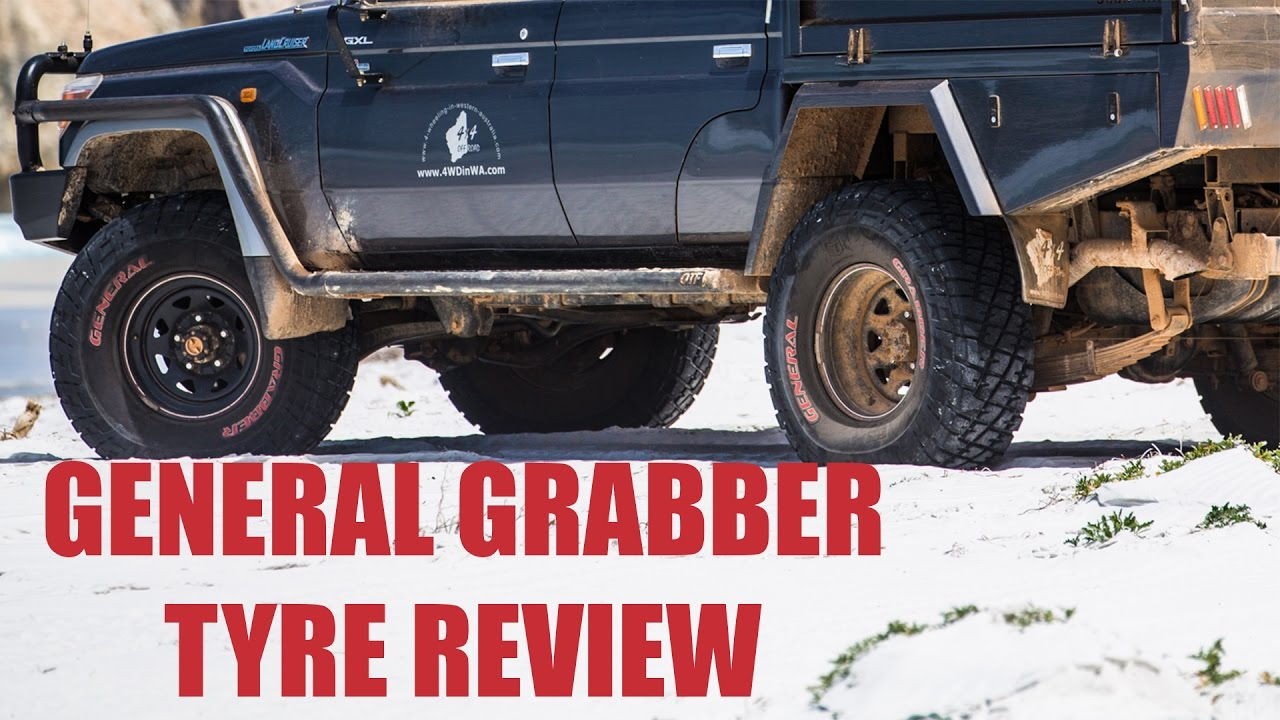 general grabber red letter tire review