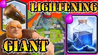 Giant Lightning Too Overpowered?! - Arena 9 Deck (Log) GRAVEYARD SOON?! Clash Royale Hack