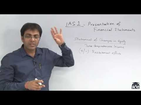 IFRS - IAS 1 - Presentation of Financial Statements