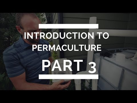 Introduction to Permaculture Part 3 - Water Harvesting and Turning Waste Into Resource