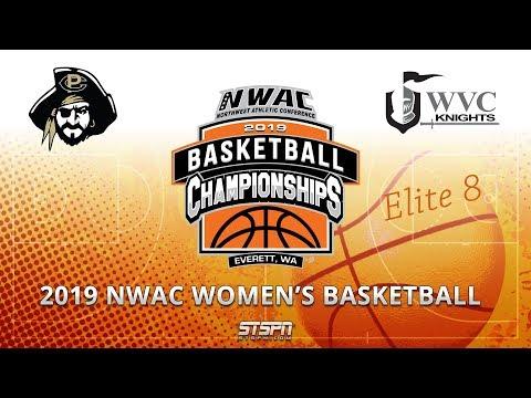2019 NWAC Women\'s Basketball Game 12 - Peninsula vs Wenatchee Valley