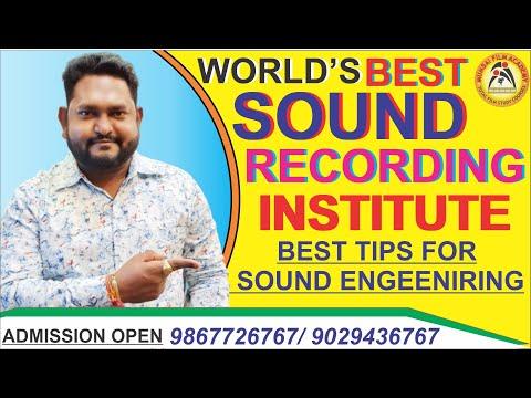 Learn Sound Recording & Digital Music Production in Mumbai Film Academy