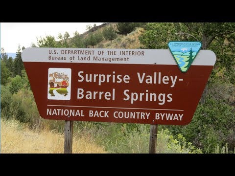 Surprise Valley/Barrel Springs Back Country Byway