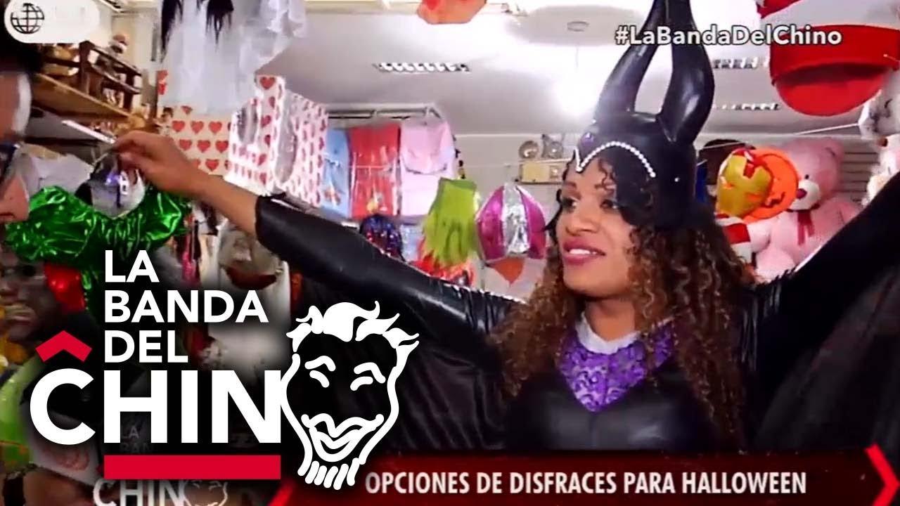 Opciones de disfraces para Halloween La Banda del Chino 3010