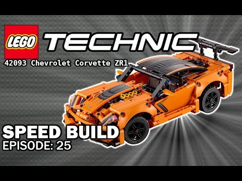 NEW  LEGO Technic  Chevrolet Corvette ZR - Speed Build #