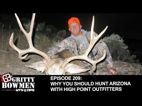 Episode 209: Why You Should Hunt Arizona with High Point Outfitters