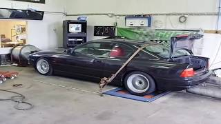 BMW 850i V12(ENGINE SOUND)