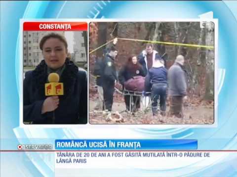 O româncă a fost ucisă în Franţa