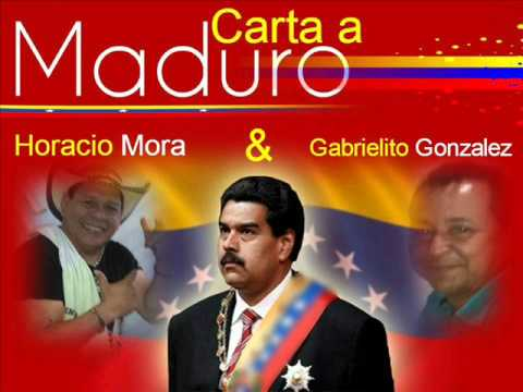 Escucha el vallenato que le hicieron al Presidente Maduro canta Horacio Mora