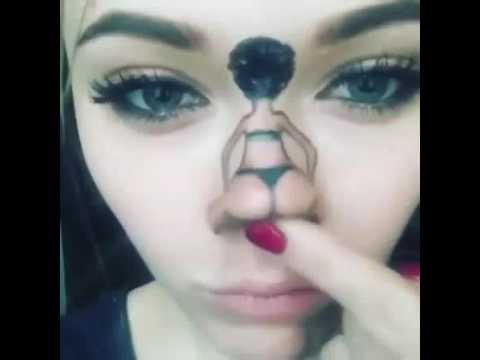 Funny girl nose