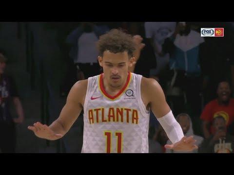 Trae Young Game Winner Deep 3! 2018 NBA Preseason vs Spurs
