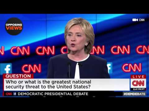 Democratic Debate: What Is Our Greatest National Security Threat?