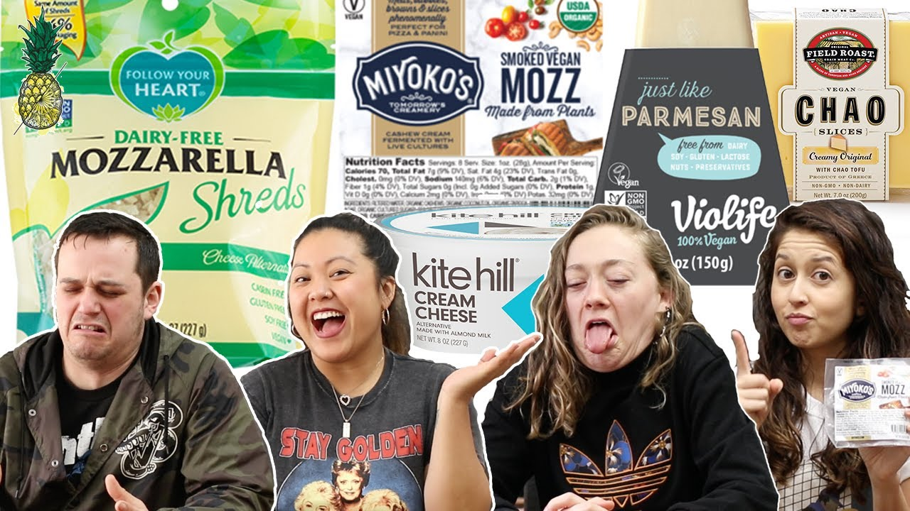Tasting Popular Vegan Cheeses -- Are They Worth It?