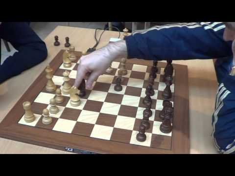 GM Bortnyk Olexandr - GM Ivanchuk Vassily, Sicilian defence 2.c3, Rapid chess, PART 1