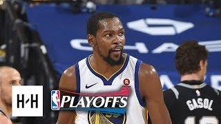 San Antonio Spurs vs Golden State Warriors - Game 5 - Highlights | April 24 | 2018 NBA Playoffs