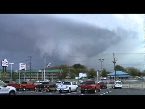 Chattanooga Tornado forming from downtown Chattanooga--hit Red Bank Chickamauga Dam Harrison