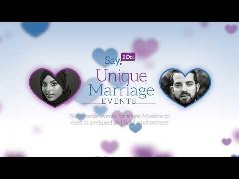 Say I Do - Unique Marriage Event UK Tour 2018