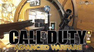 Call Of Duty Advanced Warfare Multiplayer Gameplay! CoD AW Sniper & SMG Gameplay