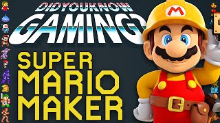 Super Mario Maker - Did You Know Gaming? Feat. Ross O