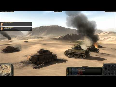 Theatre Of War 2: Africa 1943 Gameplay -  Battle Of Sidi Bou Zid