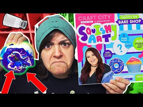 DON'T BUY! 11 REASONS KARINA GARCIA DIY SQUISHY Kit is NOT worth it SaltEcrafter #23