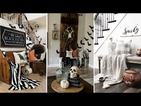 ❤DIY Rustic Farmhouse style Halloween decor Ideas❤ | Home decor & Interior design| Flamingo Mango