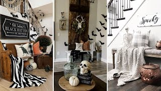 ❤DIY Rustic Farmhouse style Halloween decor Ideas❤ | Home decor & Interior design| Flamingo Mango