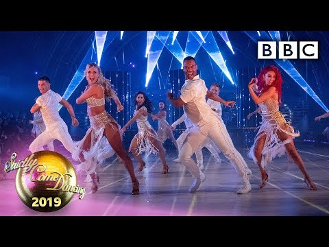Finalists and Strictly Pros in a euphoric opening routine - The Final | BBC Strictly 2019