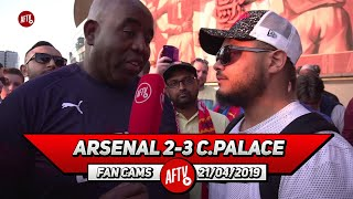 Arsenal 2-3 Crystal Palace | Mustafi Is Done Out Here!! He Can't Defend To Save His Life! (Troopz)