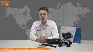snom 320 VoIP Phone Video Review / Unboxing