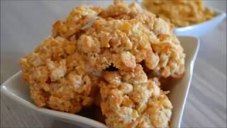 Печенье из кукурузных хлопьев. Простой рецепт
