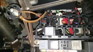 Golf Mk4 1.9 TDI ALH cranking but not starting, Relay 109 Part 2