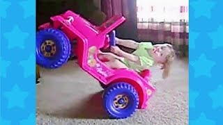 BEST FUNNY TRY NOT TO LAUGH CHALLENGE ★ Babies Toddlers And Power Wheels | Funny Baby Fails