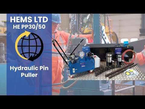 HEMS Hydraulic Pin And Bush Fitting And Removal Kit