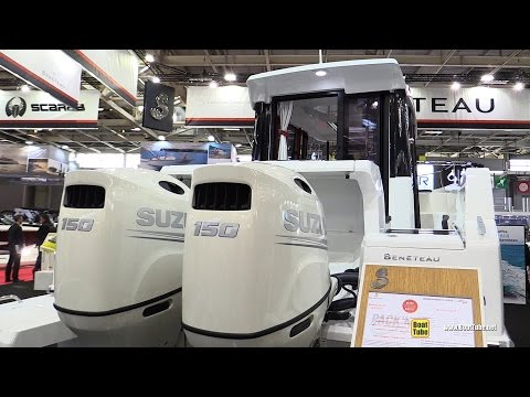 2016 Beneteau Barracuda 8 Fishing Boat - Walkaround - 2015 Salon Nautique de Paris from YouTube · High Definition · Duration:  3 minutes 8 seconds  · 15.000+ views · uploaded on 16.12.2015 · uploaded by BoatTube