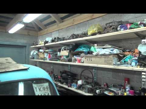 Как сделать полки в гараже