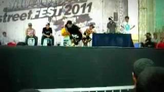 Renaissance Crew VS Blazin Hancai Showdown Streetfest 2011