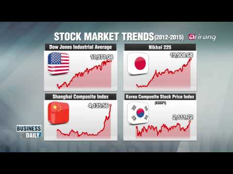 Business Daily-Asia′s stellar stock market   승승장구 하는 한중일 증시