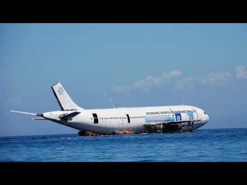 Airbus A300 tipi uçak denize batırıldı