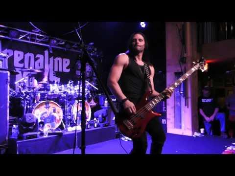 Adrenaline Mob - David Z bass solo - Racine, WI - June 24, 2017